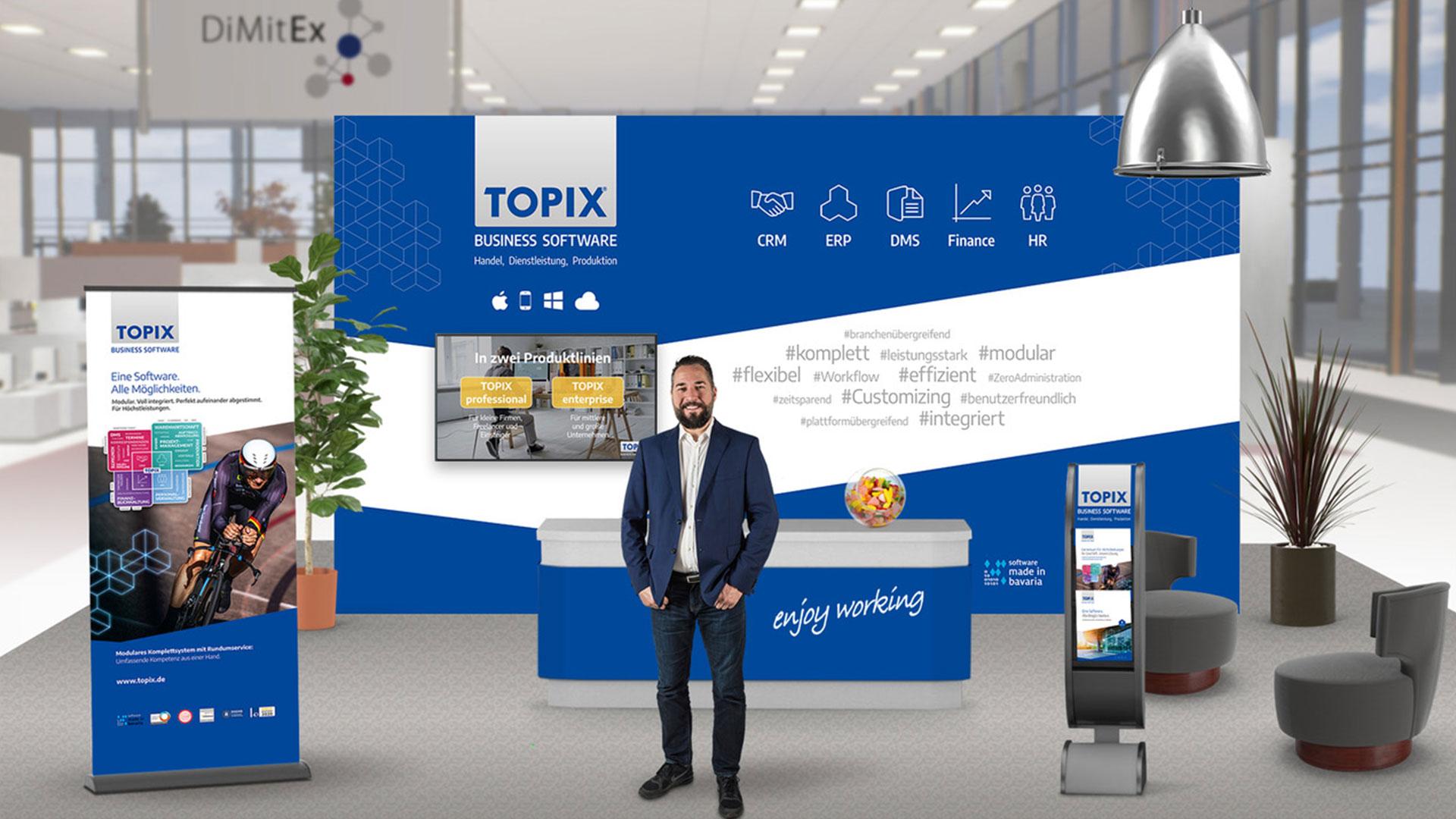 TOPIX auf der DiMitEx vom 28.09.-09.10.2020